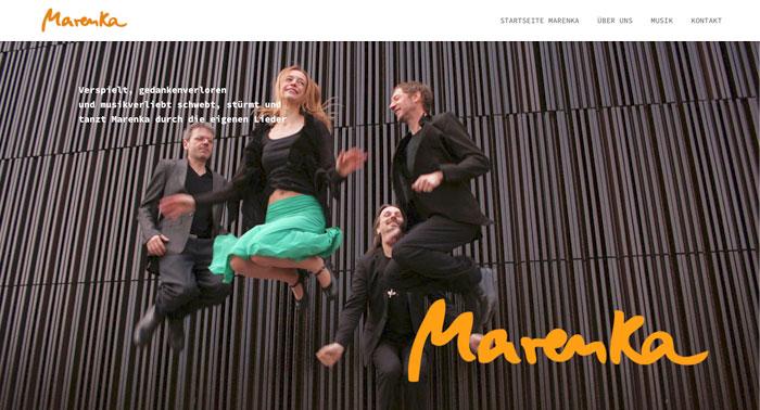 Webdesign Marenka